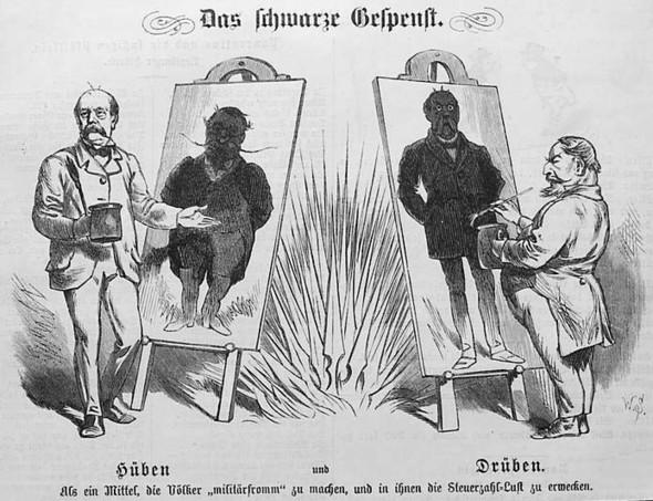Karikatur zum deutsch-Französischen krieg - (Karikatur, Napoleon)