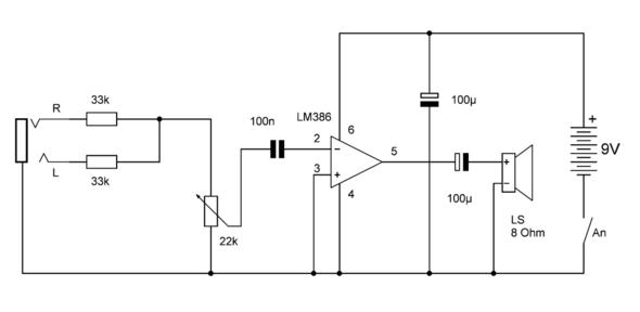 Der Schalplan - (Elektronik, Schaltplan)