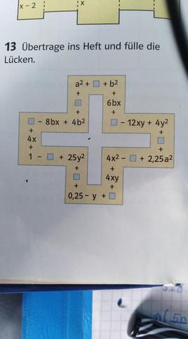 Das kreuz - (Mathe, Rechnen, Kreuz)