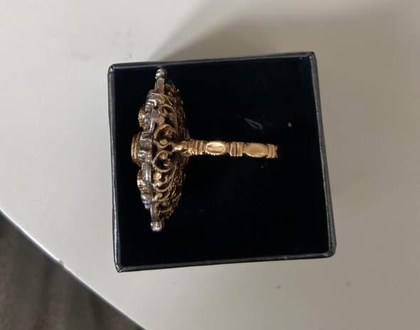 Kann mir jemand etwas zu diesem Ring sagen?
