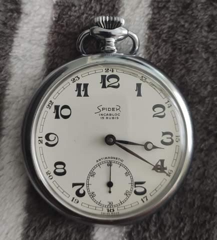 Kann mir jemand etwas zu dieser Taschenuhr sagen?