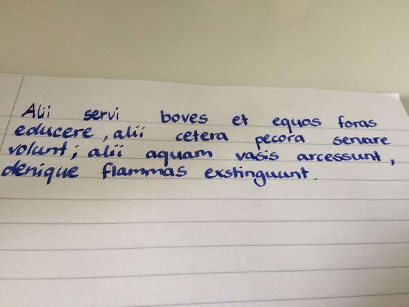 Latein  - (Schule, Sprache, Latein)
