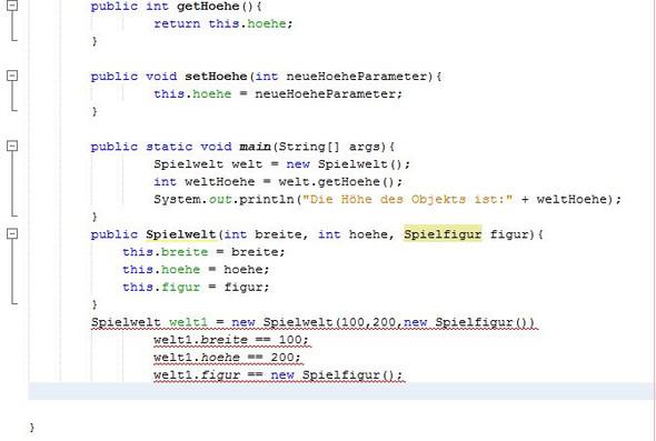 Hier ist der Quellcode - (programmieren, Java, Programmierfehler)