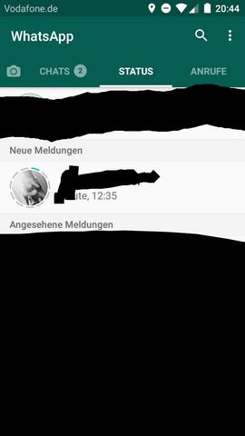 whatsapp status bilder fragen