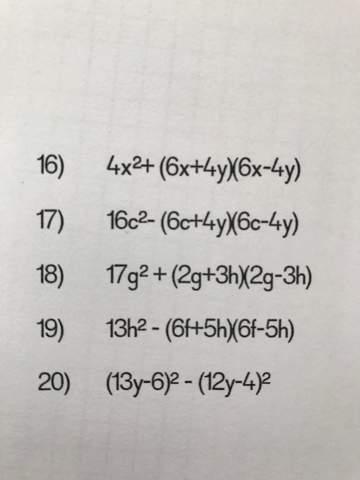 Kann mir jemand in Mathe helfen (Nr 20)?