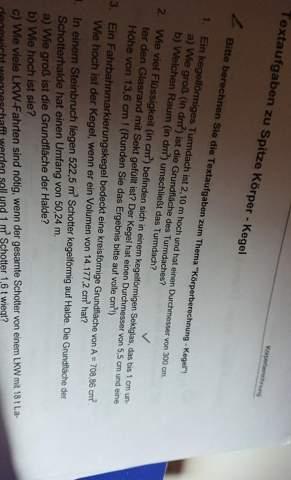Kann mir jemand mal wieder in Mathe helfen (lol sorry)?