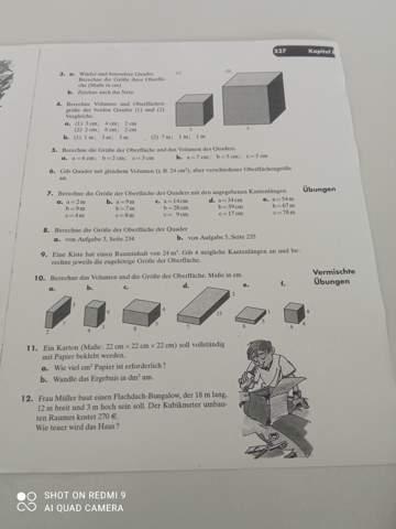 Kann mir jemand Nummer 4,5 und Nummer 6 erklären?