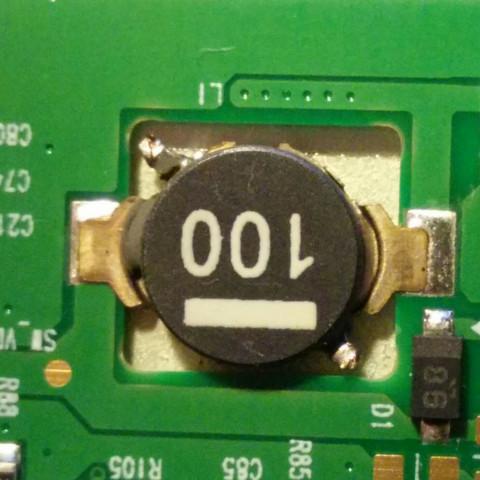 Das Bauteil ist weniger als doppelt so dick wie das PCB - (Computer, Technik, Elektronik)