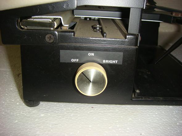 Ein-Aus Drehknopf - (Technik, Gerät)