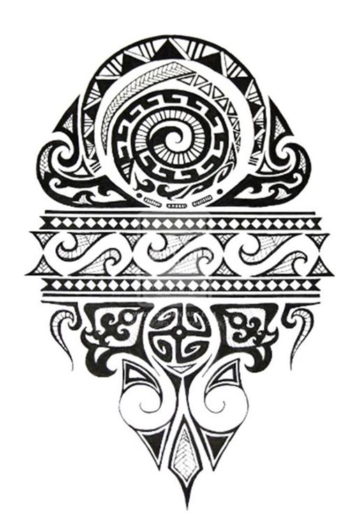 kann mir jemand sagen welche bedeutung dieses maori tattoo hat. Black Bedroom Furniture Sets. Home Design Ideas