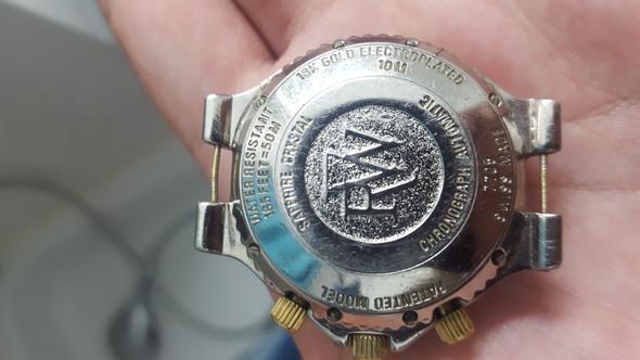 Hinten - (Uhr, Raymond Weil)
