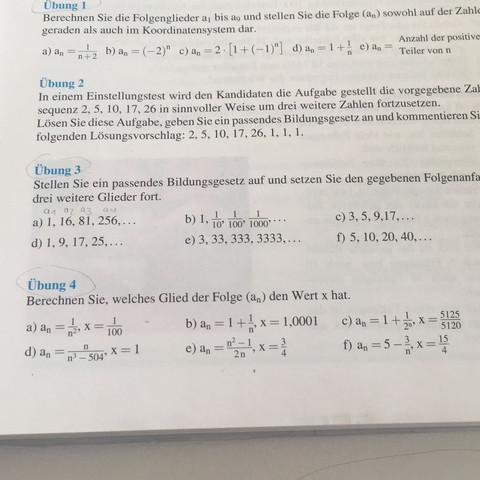Bin bei Aufgabe c - (Schule, Mathe, Mathematik)