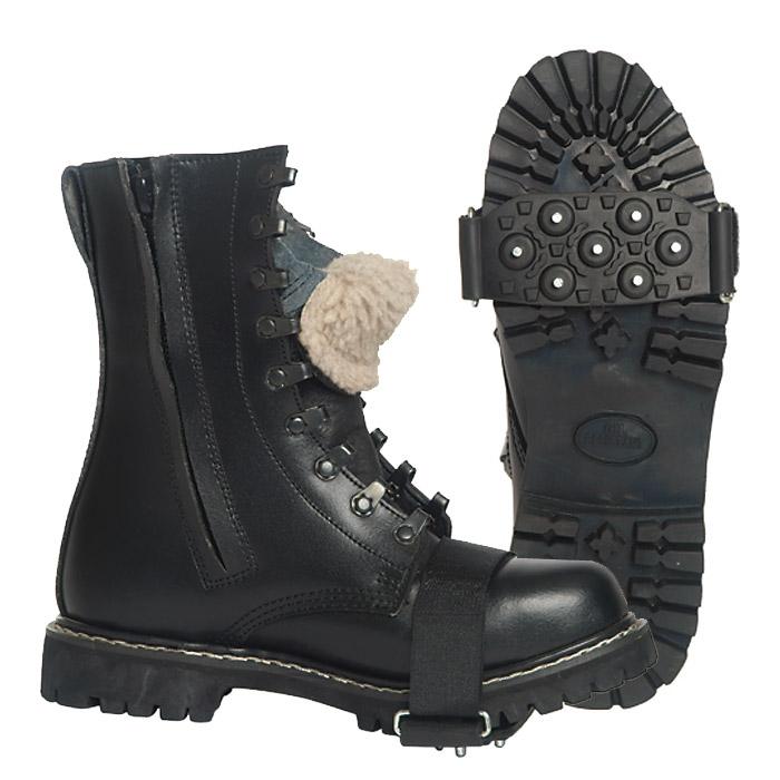 kann mir jemand spikes f r stiefel im winter empfehlen kleidung schuhe. Black Bedroom Furniture Sets. Home Design Ideas