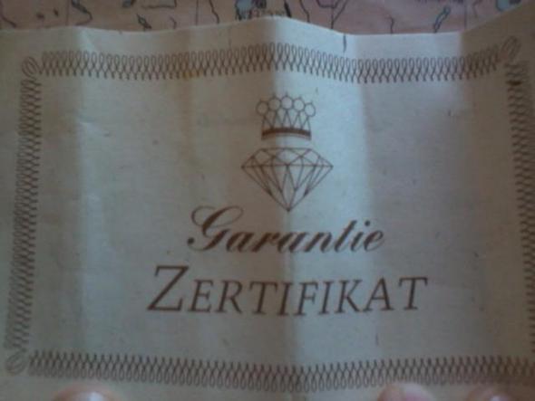 Zertifikat - (Beauty, Mode, Schmuck)