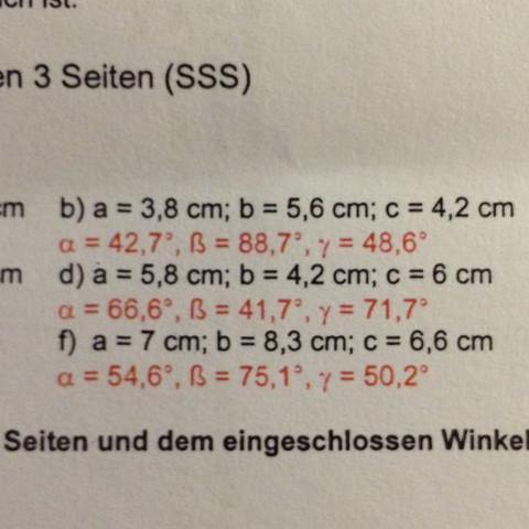 Nehmen wir die Aufgabe D - (Mathe, Probe, Geo)