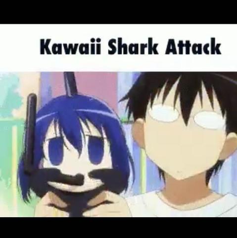 Bild ss - (Anime, Hai, Kawaii)
