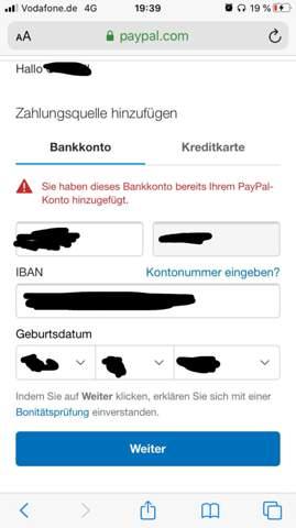 Kann Mit Paypal Nicht Bezahlen
