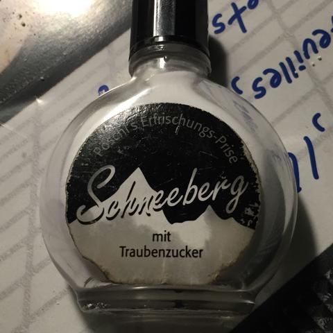 Schneeberg  - (Drogen, Nikotin, Schnupftabak)