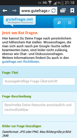 Screenshot Internet - (PC, Internet, Handy)