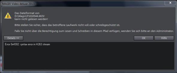 Das ist die Fehlermeldung - (Computer, PC, Windows 7)
