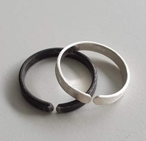 Kannst du das helle Ringmaterial schätzen?