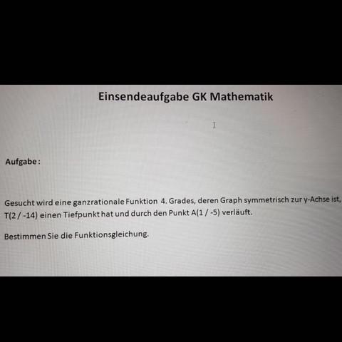 Da ist die Aufgabe  - (Mathematik, LG, Nad Nad)