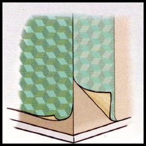Kantenschutz Für Zwei Aufeinandertreffende Tapeten Heimwerken