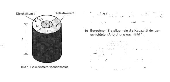 kapazit t einer anordnung berechnen physik elektrotechnik. Black Bedroom Furniture Sets. Home Design Ideas