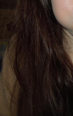 ich hoffe man erkennts,aber mittlerweile ist es schlimmer und in rl noch schlimm - (Haare, Beauty, kaputt)
