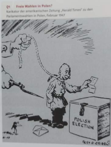 Karikatur analysieren?