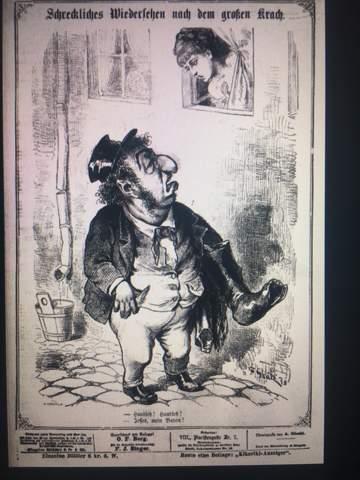 Karikatur Antisemitismus 1873?