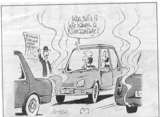 karikatur  - (Politik, Klimawandel, Karikatur)