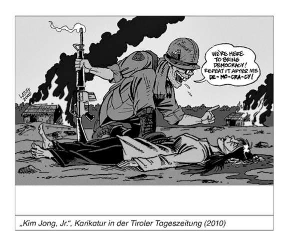 Karikatur beschreiben? Kalter Krieg?