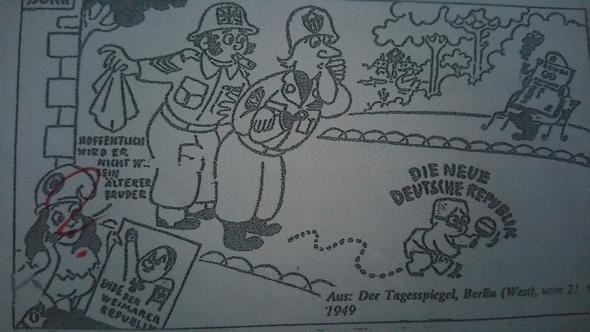 - (Geschichte, Karikatur)