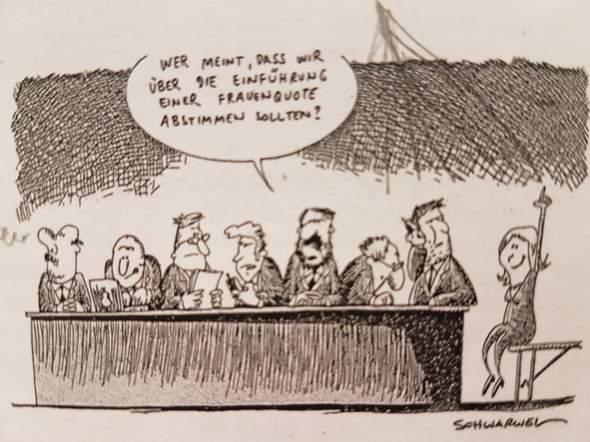 - (Soziales, Karikatur)