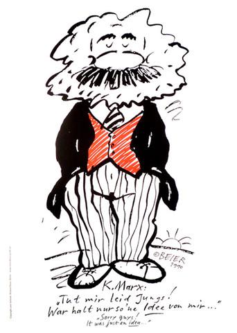 Karl Marx - (Karikatur, karl-marx)