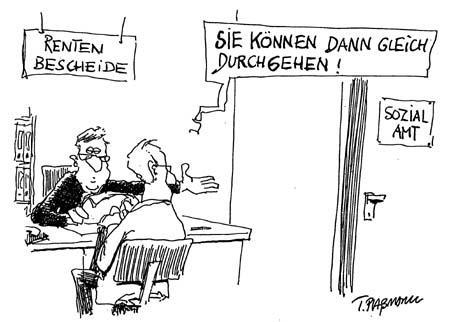 Karikatur Problem Schildern Losungsvorschlage Wirtschaft