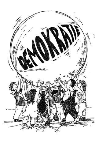 Karikatur - (Demokratie., Karikatur)