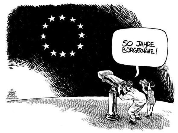 EU - (Freizeit, Karikatur, Europäische Union)