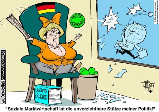 Karikatur Soziale Marktwirtschaft - (soziales, Karikatur, sozialemarktwirtschaft)