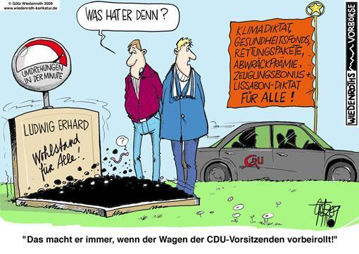 Karikatur Soziale Marktwirtschaft2 - (soziales, Karikatur, sozialemarktwirtschaft)