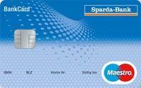 Kartennummer Maestro Sparda Bank