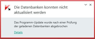Fehlermeldung - (Computer, PC, Fehlermeldung)