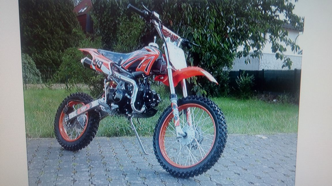 kauf von 125ccm vollcross ebay motorrad dirt bike funsport. Black Bedroom Furniture Sets. Home Design Ideas