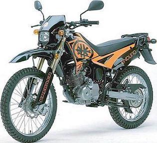 kawasaki klx kreidler enduro oder yamaha dt 125 ccm motorrad motor moped. Black Bedroom Furniture Sets. Home Design Ideas