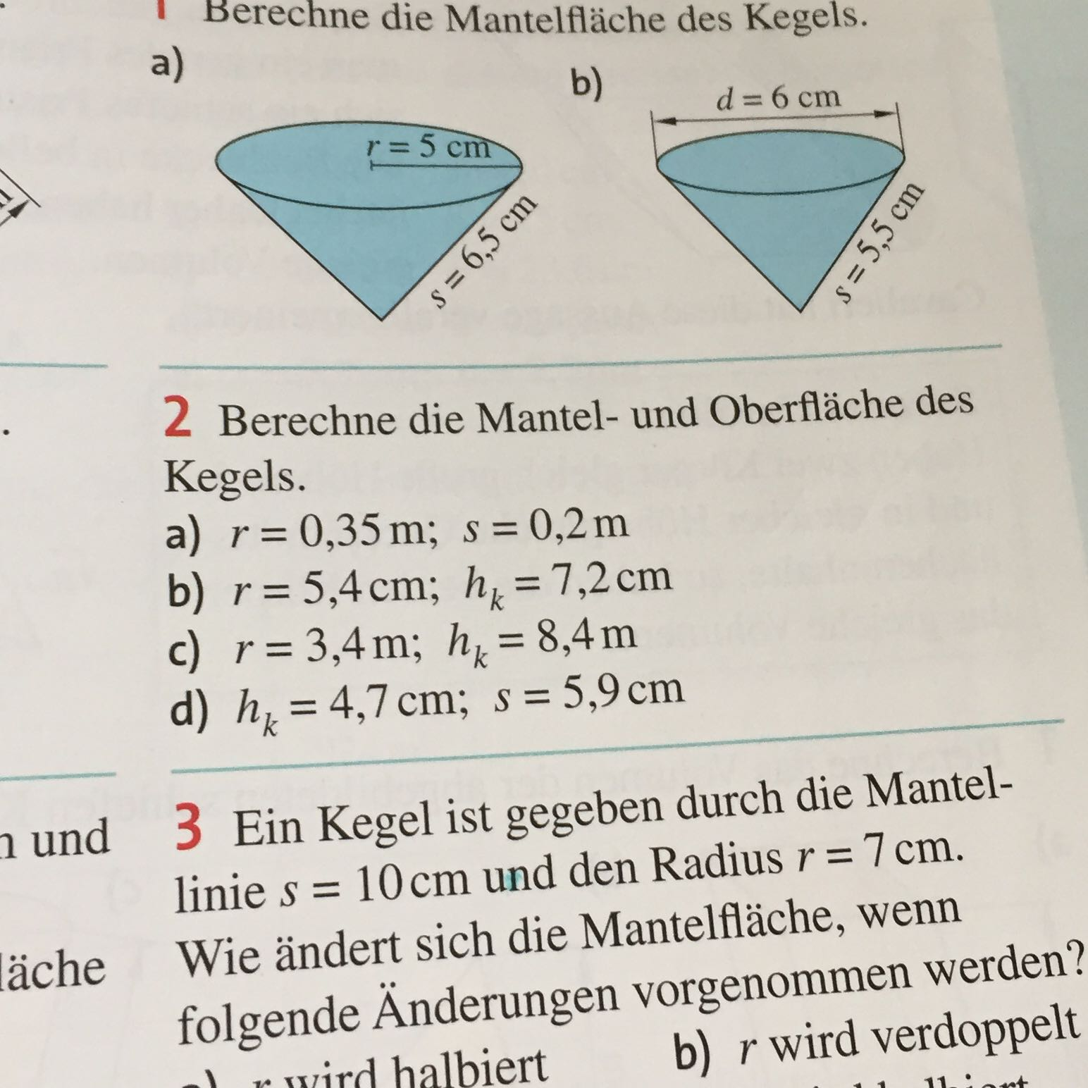 Atemberaubend Volumen Von Pyramiden Und Kegel Arbeitsblatt Galerie ...