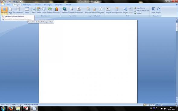 Deckblatt - (Computer, Programm, Schreiben)