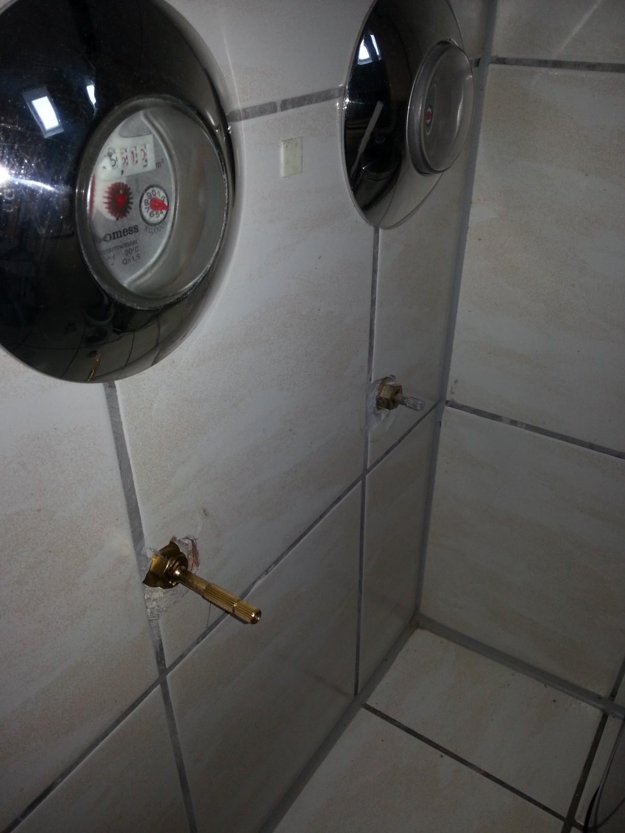 kein druck mehr am wasserhahn (haus, wasser, haustechnik) ~ Wasserhahn Waschmaschine Kein Wasser