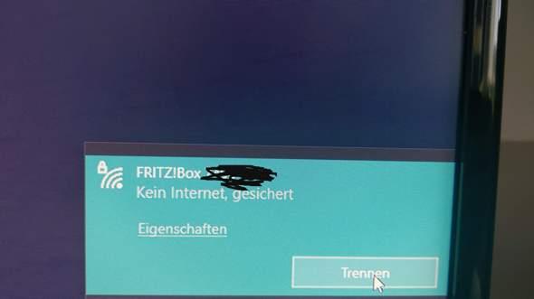 Kein Internet am PC?