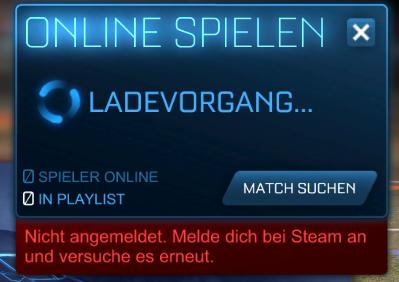 Hier mal der Screenshot des beschriebenen Fehlers - (Steam, Fehler, Online-Spiele)